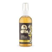 100 удивительных трав Агафьи Спрей для волос травяной ополаскивание, восстановление и блеск 170мл