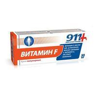 911 Крем витамин F полужирный 50 мл