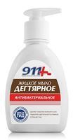 911 Мыло Дегтярное с антибактериальным эффектом флакон 250 мл