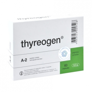 Тиреоген (thyreogen) пептиды щитовидной железы для гормональной системы (20 капсул)