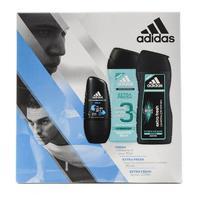 Adidas Набор fresh ролик 50 мл + extra fresh гель для душа 250мл + extra fresh шампунь 200мл 1 шт.