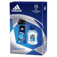 Adidas Набор uefa star edition лосьон после бритья 100 мл + гель для душа 250 мл 1 шт.