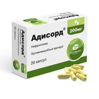 Адисорд капсулы 200 мг 20 шт.