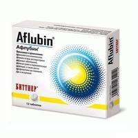 Афлубин таблетки, 12 шт.