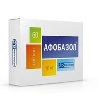 Афобазол таблетки 10 мг, 60 шт.