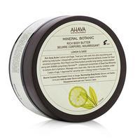 Ahava Mineral Botanic Насыщенное масло для тела лимон и шалфей 235 г