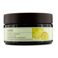 Ahava Mineral Botanic Насыщенное масло для тела тропический ананас и белый персик 235 г