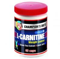 Л-карнитин вейт контроль/l-carnitine weight control капсулы, 60 шт.
