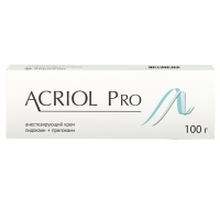 Акриол Про крем 2,5% + 2,5% 100 г
