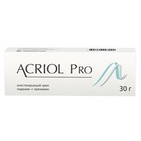 Акриол Про крем 2,5% + 2,5% 30 г