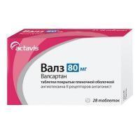 Валз таблетки 80 мг, 28 шт.