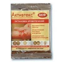 Активтекс АКФ Салфетка аминокапроновая кислота и фурагин, 10х10 см