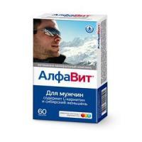 Алфавит для мужчин таблетки, 60 шт.