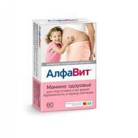 Алфавит мамино здоровье таблетки, 60 шт.