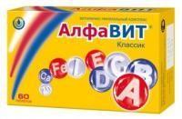 Алфавит таблетки, 60 шт.