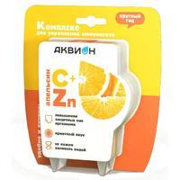 Аквион Комплекс апельсина, витамина С и и Zn 2 г саше 10 шт.