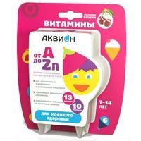 Аквион Витаминно-минеральный комплекс от А до Zn для детей 7-14 лет 30 шт.