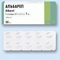 Альбарел таблетки 1 мг, 30 шт.