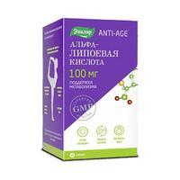 Альфа-Липоевая кислота ANTI-AGE 100 мг капсулы 30 шт.