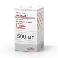 Алексан р-р для инъекций 20 мг/мл 10 мл флакон 1 шт.