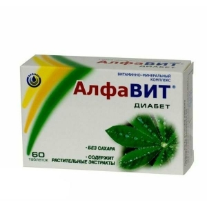 Алфавит Диабет таблетки, 60 шт.