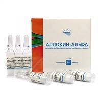 Аллокин-альфа лиофилизат для п/кожного введения 1 мг ампулы 6 шт.