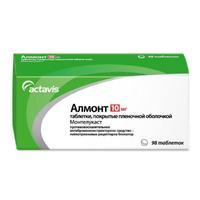 Алмонт таблетки покрыт.плен.об. 10 мг 98 шт.