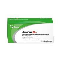 Алмонт таблетки жевательные 4 мг 98 шт.