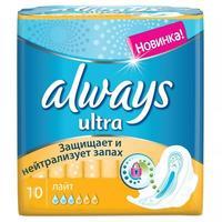 Always Ultra Light прокладки гигиенические ароматизированные 10 шт.
