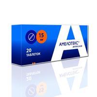 Амелотекс таблетки 15 мг, 20 шт.