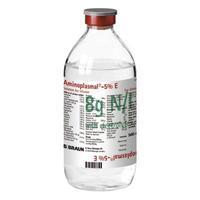 Аминоплазмаль Е раствор 5% 500 мл (8 г азота/л) флаконы 10 шт.