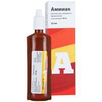 Аммиак Renewal р-р для наруж.применения и ингаляций 10% флаконы 25 мл