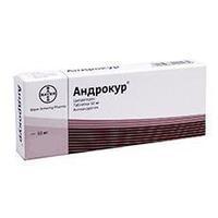 Андрокур таблетки 50 мг, 50 шт.