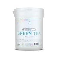 Anskin маска альгинатная с экстрактом зеленого чая успокаивающая антиаксидантная Grean Tea Mode банка 700 мл