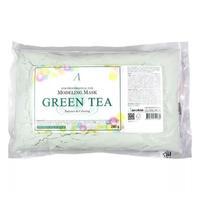 Anskin маска альгинатная с экстрактом зеленого чая успокаивающая антиоксидантная Grean Tea Modeling Mask пакет 240 г