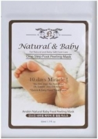 Anskin пилинг для ног Natural Baby Foot Peeling Mask 40 мл