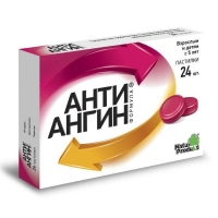 Анти-Ангин Формула пастилки, 24 шт.