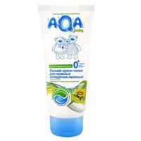 AQA baby крем-тальк легкий для кожных складочек малыша 100 мл