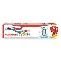 Aquafresh зубная паста детская 3-5 лет 50 мл