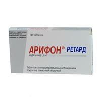 Арифон таблетки ретард 1.5 мг, 30 шт.
