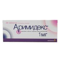 Аримидекс таблетки 1 мг, 28 шт.