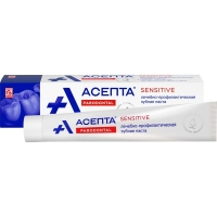 Асепта Сенситив зубная паста, 75 мл