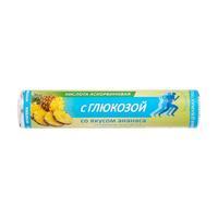 Аскорбинка аскорбиновая кислота 30 мг с глюкозой со вкусом ананаса таблетки 2,9 г Витатека 14 шт.