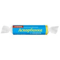 Аскорбинка \r\nВитатека таблетки крутка с сахаром 2,9 г 10 шт.