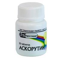 Аскорутин таблетки, 50 шт.