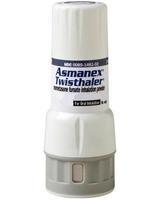 Асманекс Твистхейлер порошок для ингаляций дозированный 200 мкг/доза 60 доз