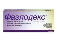 Фазлодекс шприц, 250 мг/5 мл