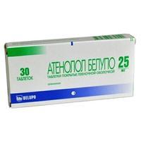 Атенолол-белупо таблетки 25 мг, 30 шт.