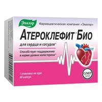 Атероклефит био капсулы, 60 шт.
