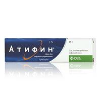 Атифин крем 1%, 15 г